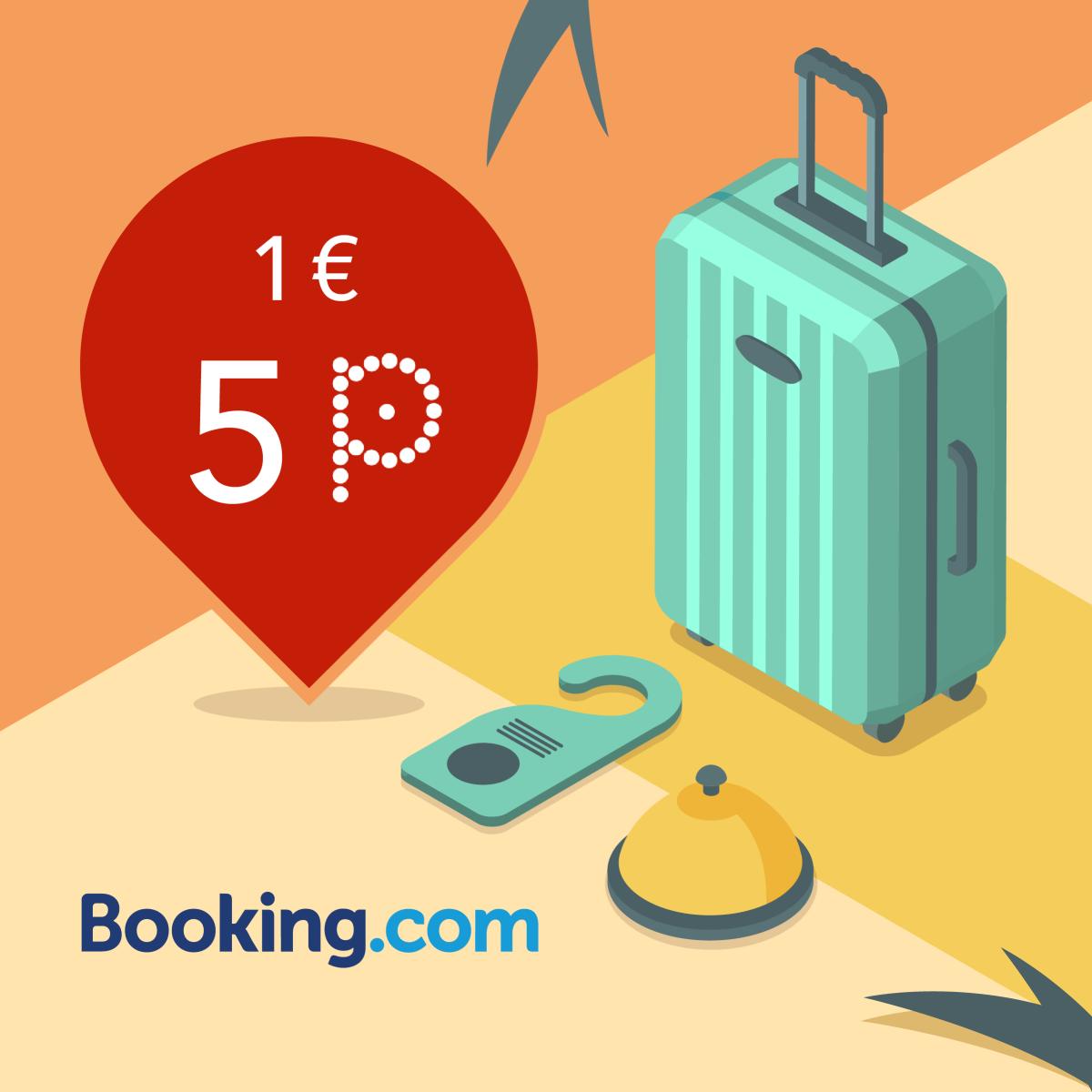 Зарезервируй жилье на Booking.com/pins получи 5P/EUR! image