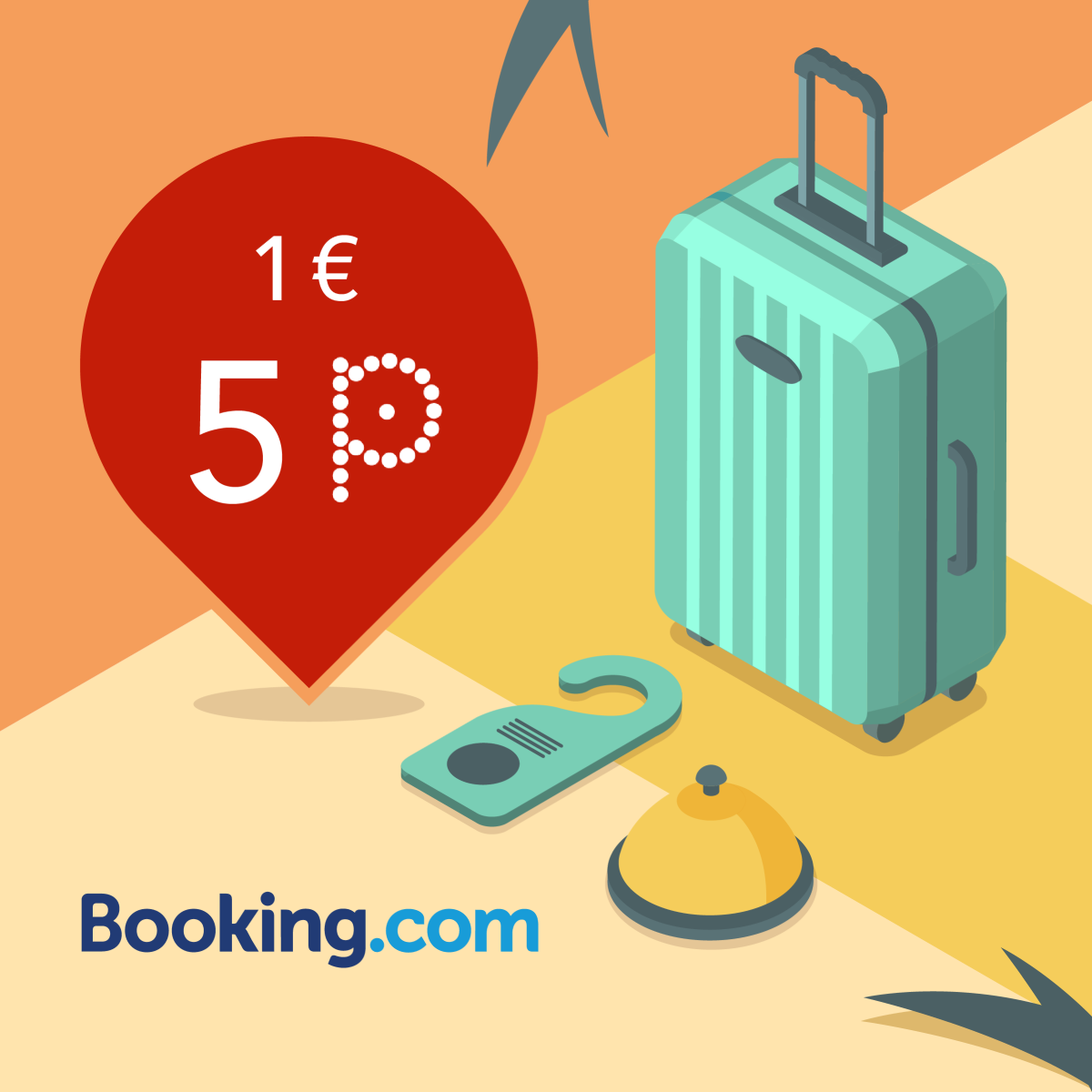 Rezervuok skrydį Booking.com/pins ir gauk 5P/EUR! image