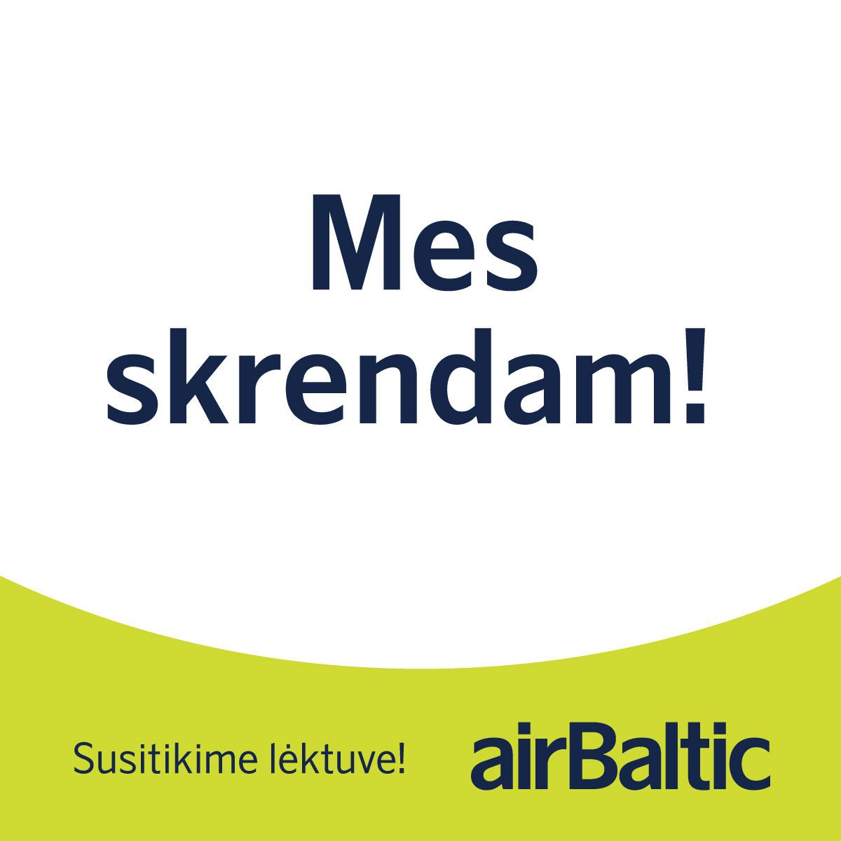 Peržiūrėk naują skrydžių tvarkaraštį! image