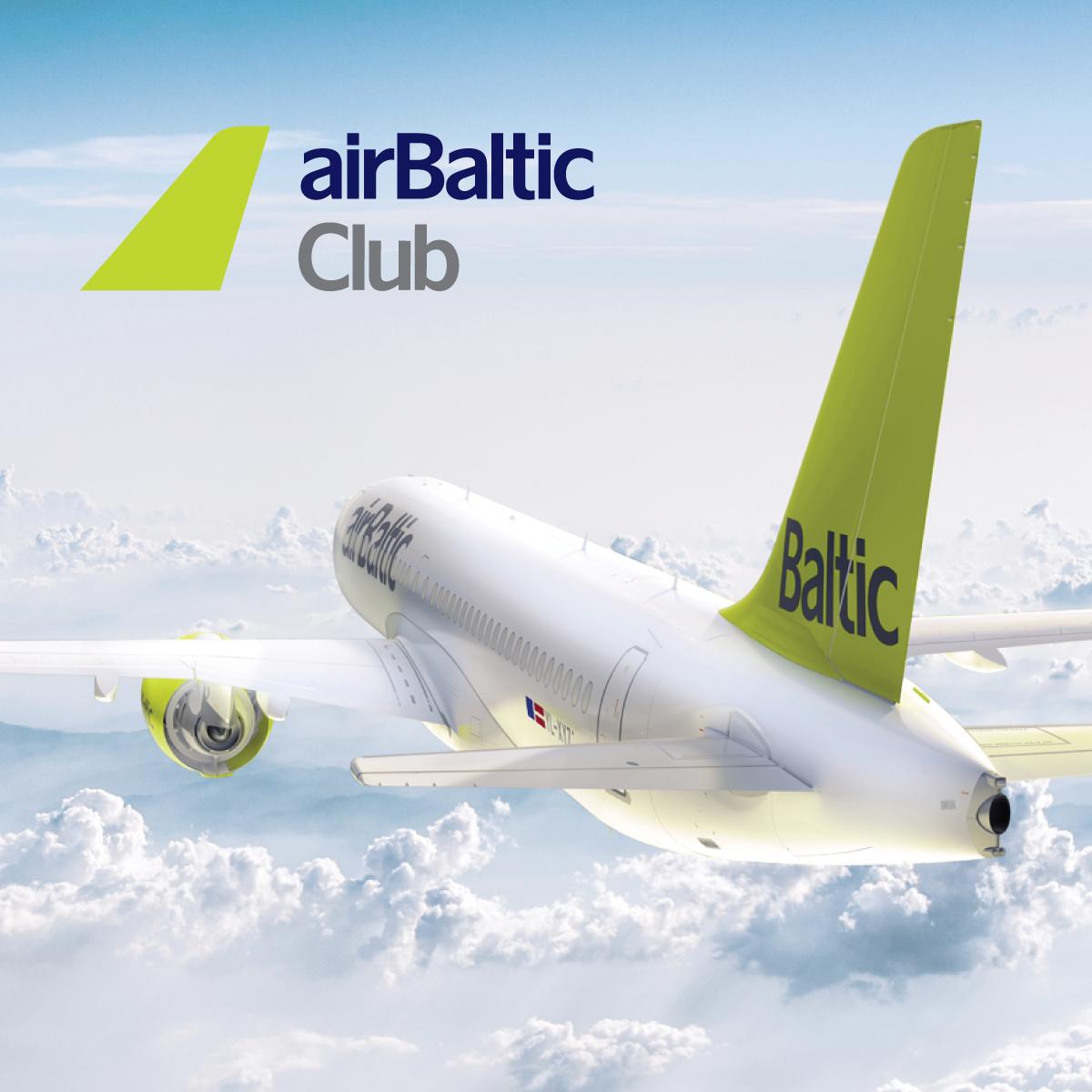 Apskati īpašos piedāvājumus no airBaltic image