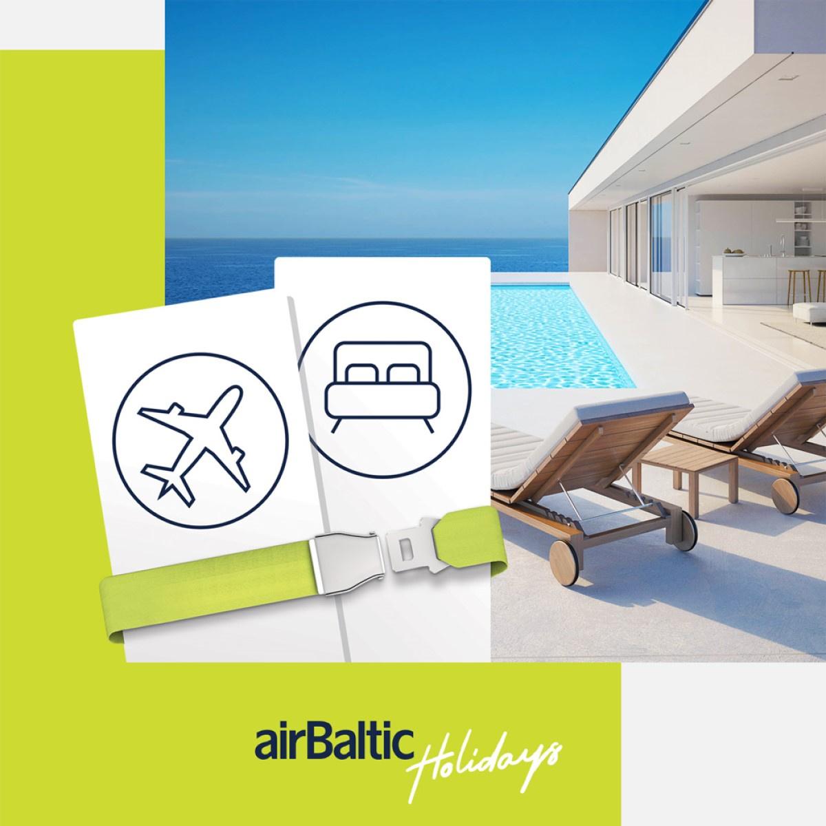 Broneerige lennud koos hotelliga airBalticHolidays.com kaudu image