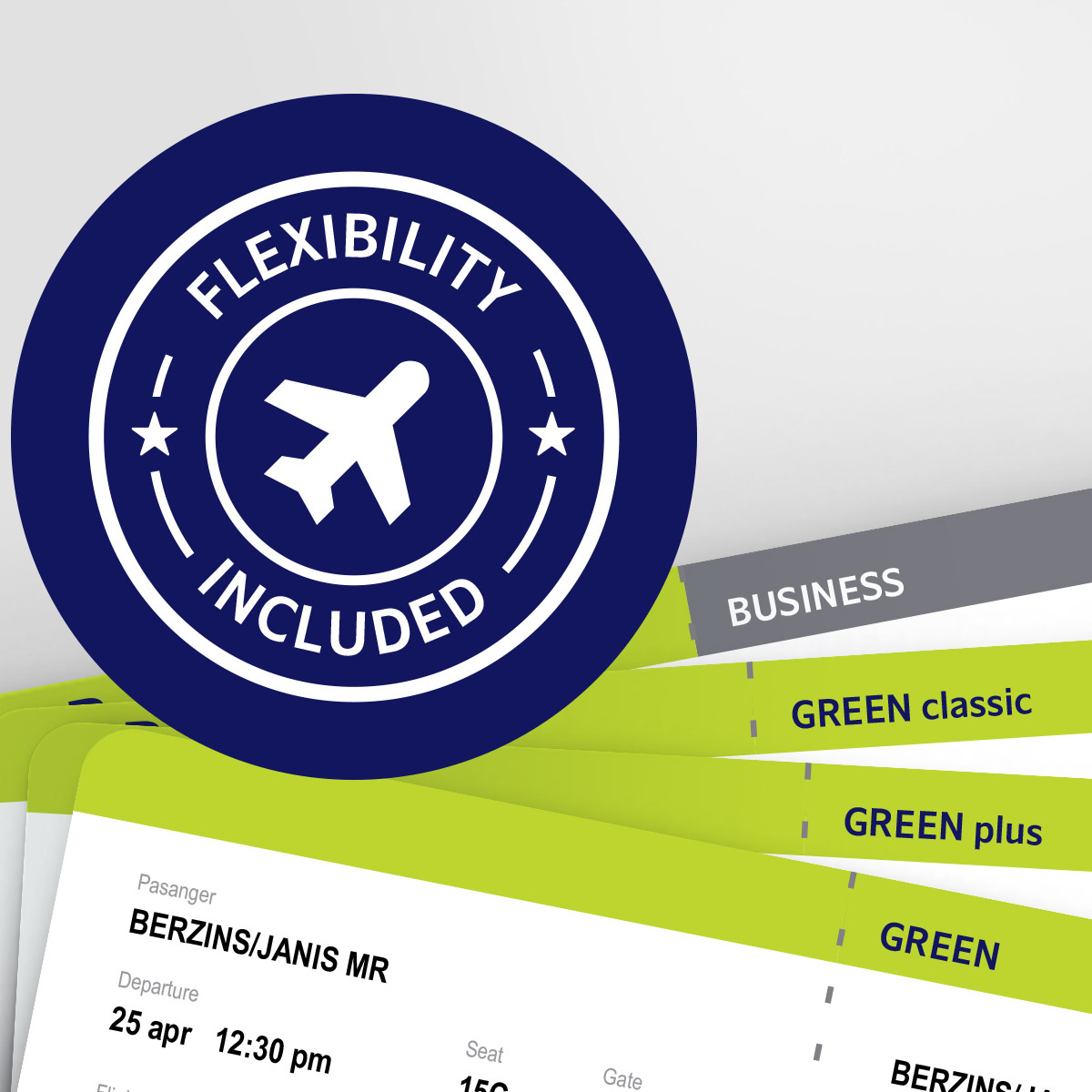 New airBaltic ticket types, new pins bonuses! image