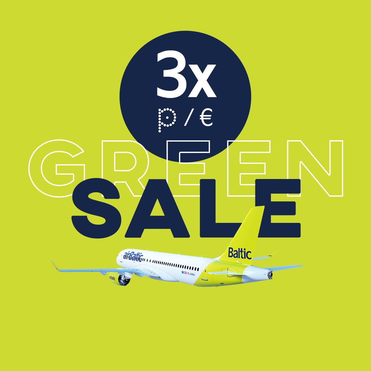 Flight SALE is here – earn triple points! image