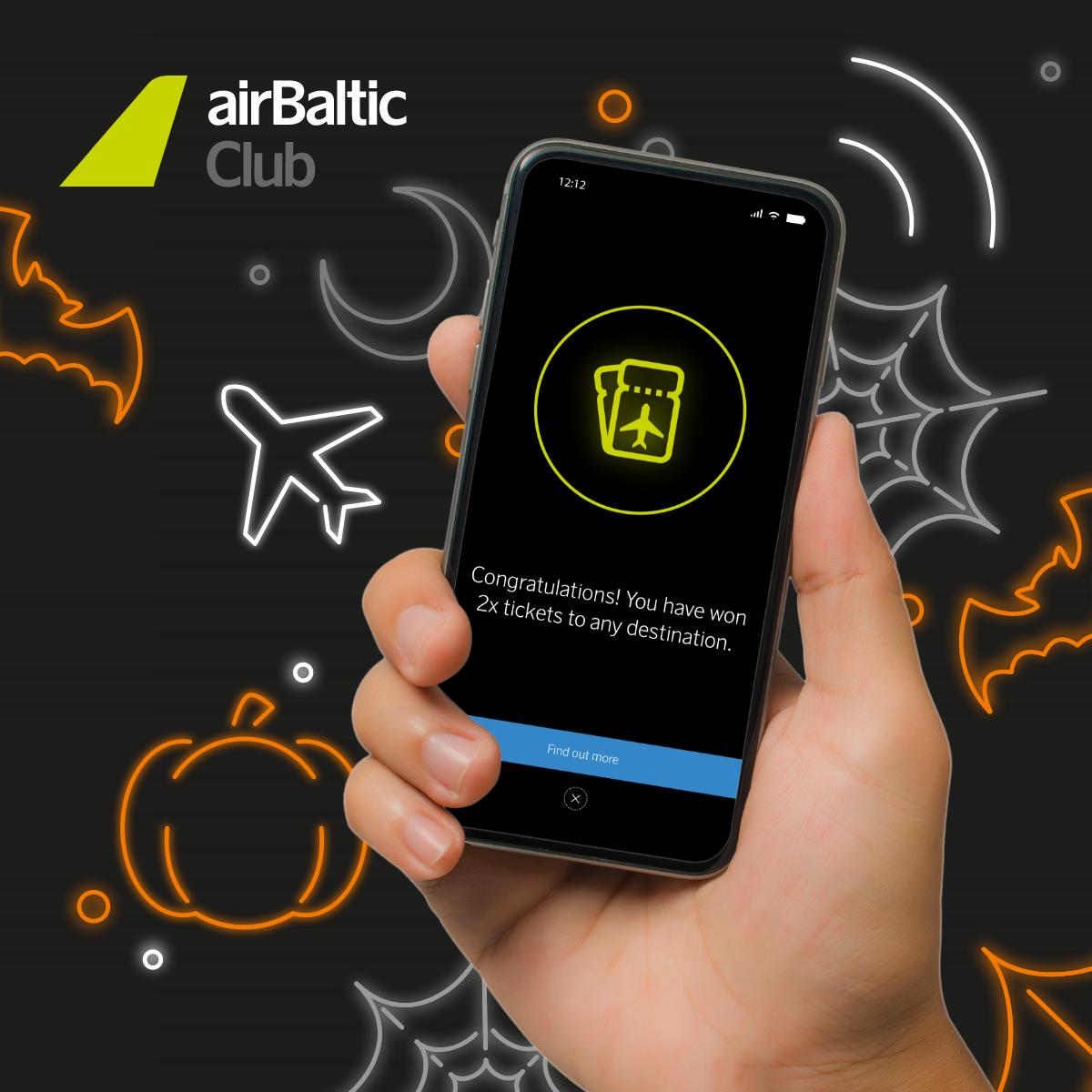 airBaltic Club Shake & Win läks käima! image