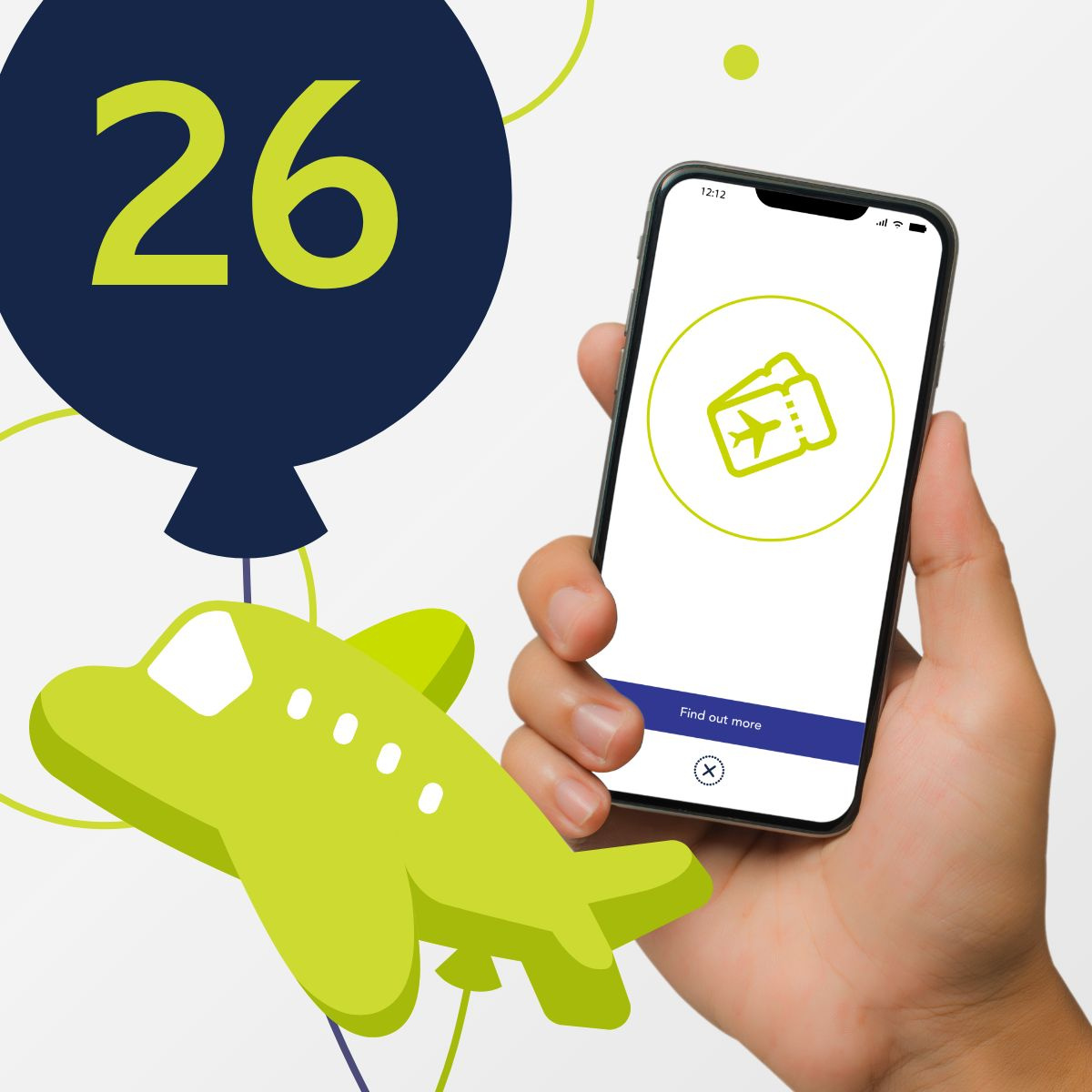 Celebrate 26 years of airBaltic with Shake&Win! image